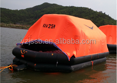 Solas Approved 6P rapid Type Inflatable cheap Life raft