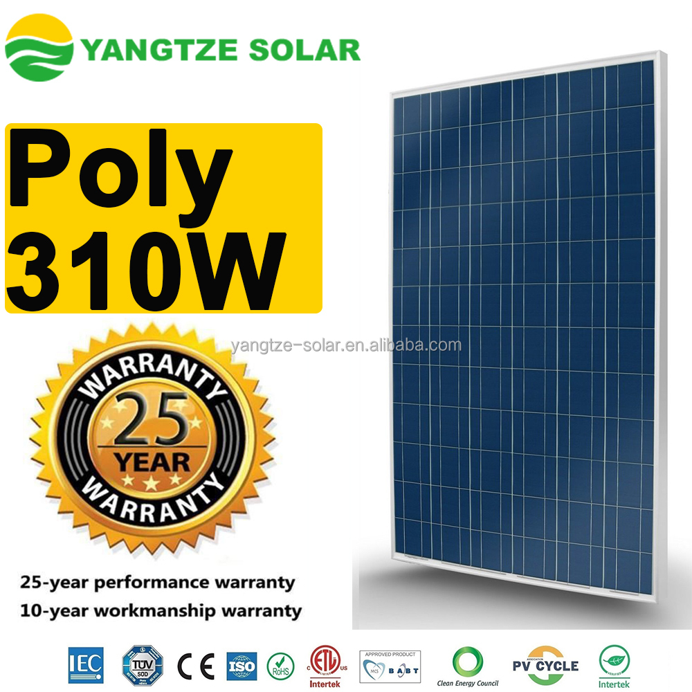 High efficiency high quality 310W pv panel kyocera