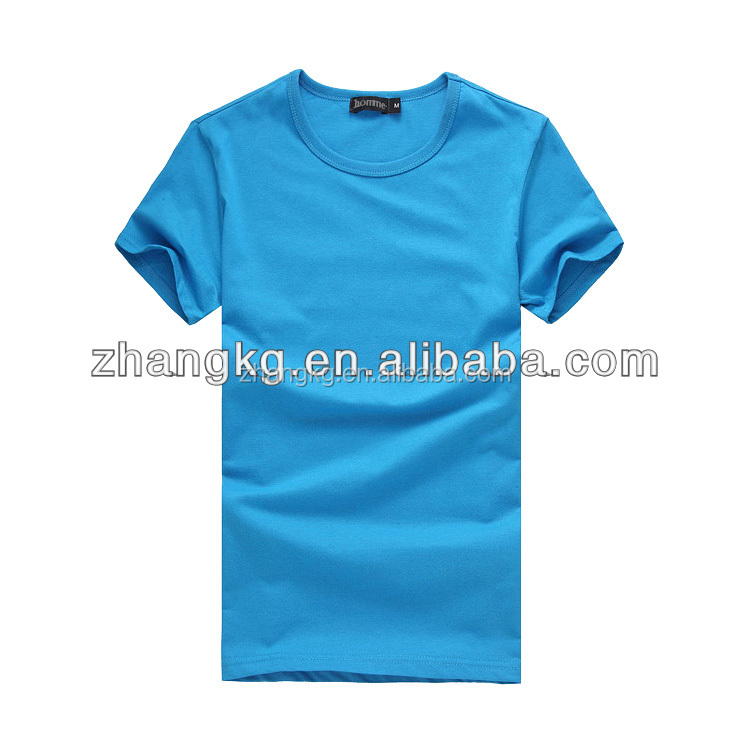 plain fitted t shirts,sample t shirt,logo can be custom as per your requirement