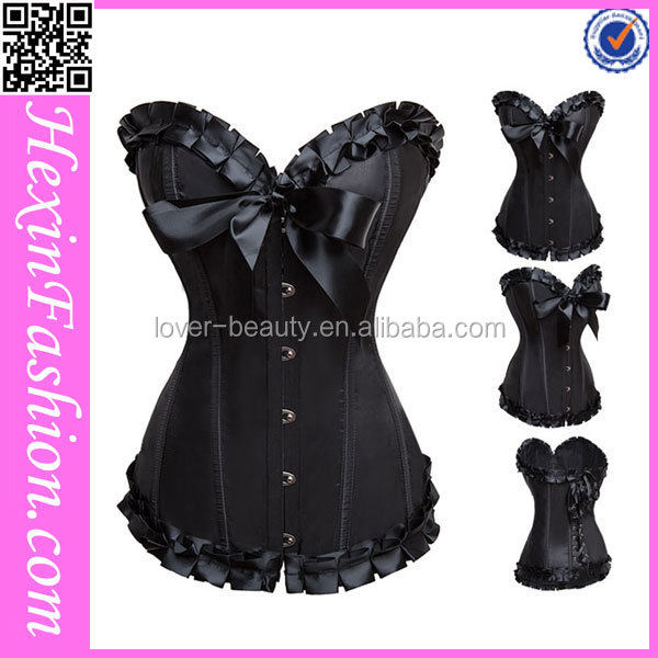 Wholesale Classic Lace Trimmed Boning Photos Women Hot Sex Image Girls Sexy Corset