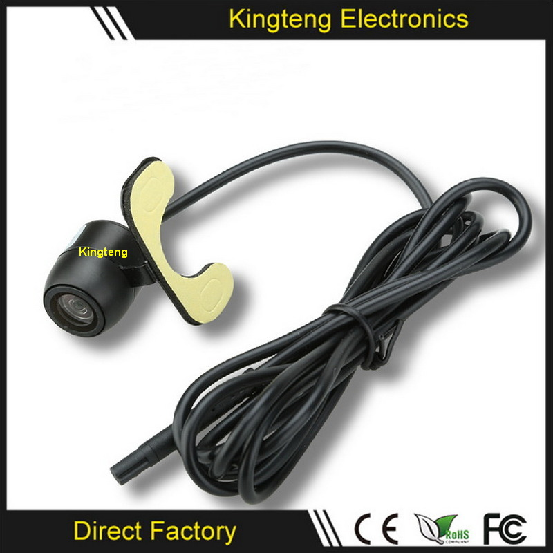 Wire/Wireless Wide View Front Rear View Car Camera (KT-100)