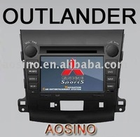 Aosino car dvd player fit for MITSUBISHI OUTLAND 2008-2010 / PEUGEOT 4007 with bluetooth GPS include CAN-BUS