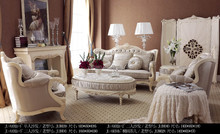 Hot sale France living room fabric sofas set type home furniture Sofa Tea table