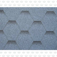 Bright Color Mosaic Asphalt Shingles