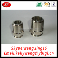 Custom Non-Standard Stainless Steel/Brass External Thread Plumb Pipe Fittings