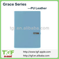 Standing leather case for apple ipad mini