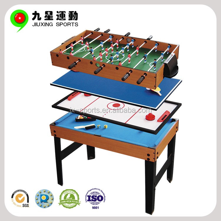 multi game table/multifunctional pool soccer table