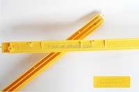 Top quality standard size yellow escalator decoration strip