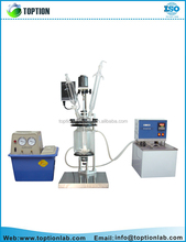 Explosion Proof Motor Jacketed chemical reactor prices Glass Reaction Kettle