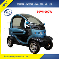 2015 hot selling new design fashion 60V 1000W 4 wheel best handicap scooters