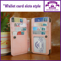 New arrival mobile case for samsung galaxy note 4 universal pink lady phone purse for note 4 3 2 wholesale