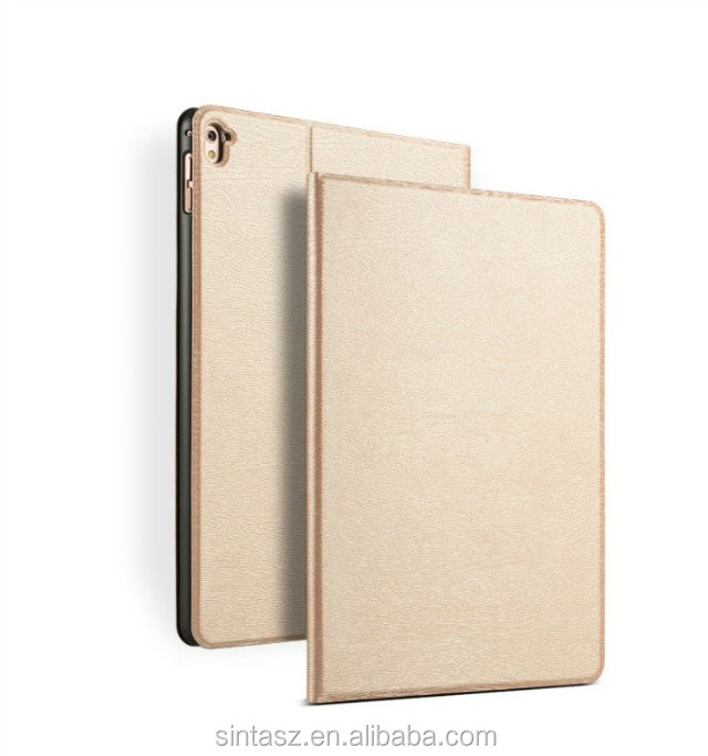 Hot selling customized mobile pc leather tablet cover case for Apple pad pro