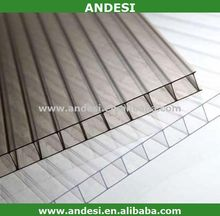 double wall polycarbonate frosted sheet