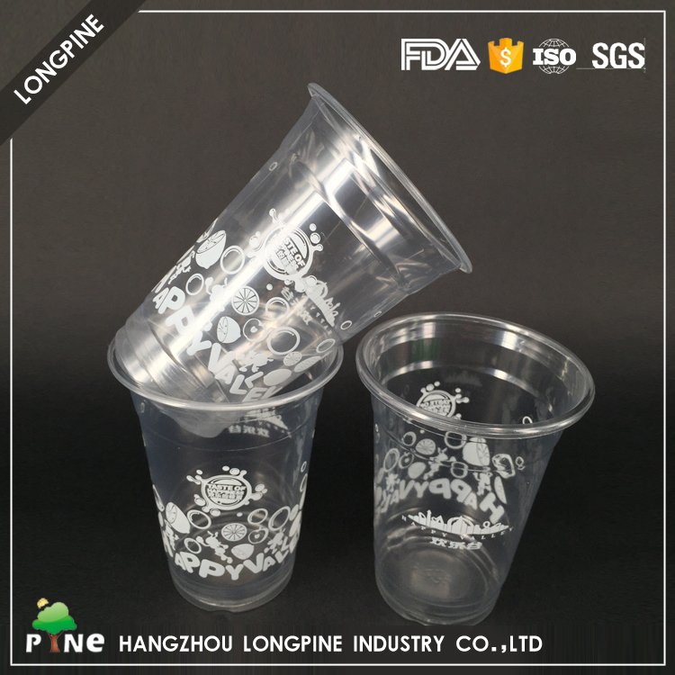 Roll Film Printed Advertisement Water PLA Disposable Plastic Cup