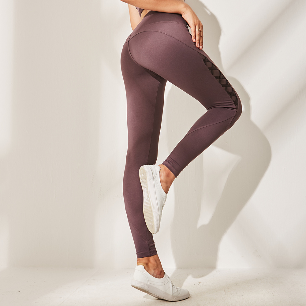 New Yoga Pants Women Elastic Tight Running Training Quick-drying Sports Pants Slim Thin Hips Casual Pants