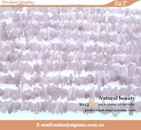 wholesale price 16inch kunzite chips diy bead and stone