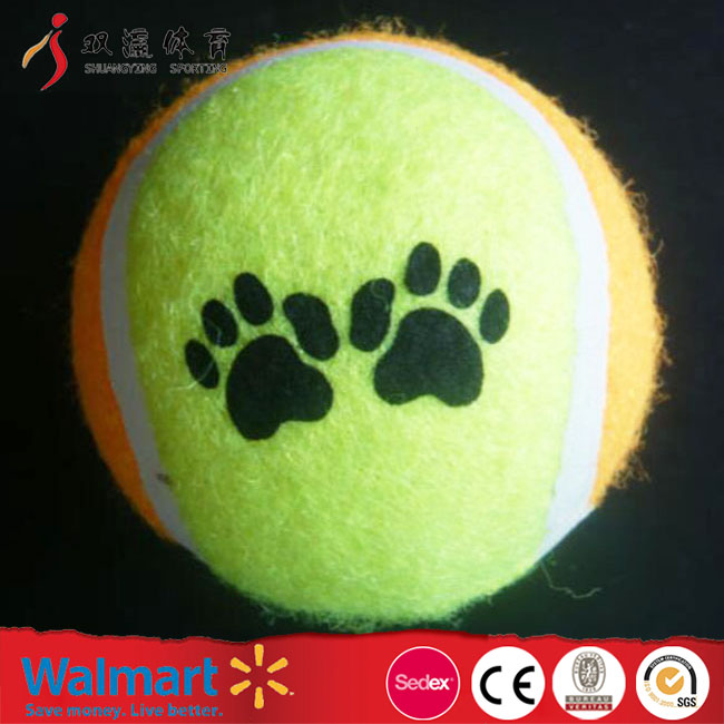 promotion dog tennis ball,wholesale custom cute OEM pet tennis ball