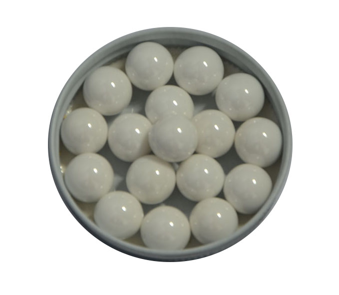 0.6-0.8mm High pure 94.5% ZrO2 Yttria / Yttrium Stabilized Zirconia Bead for Coating Paints Grinding