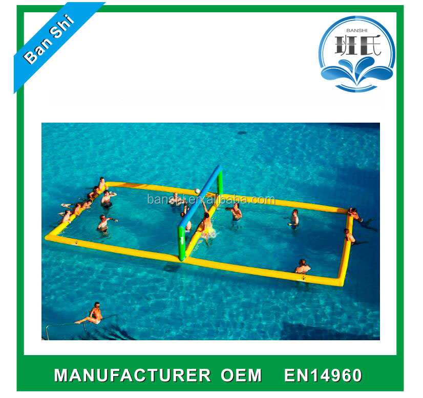 Professional manufacturer TUV certificate inflatable beach volleyball court, inflatable volleyball court