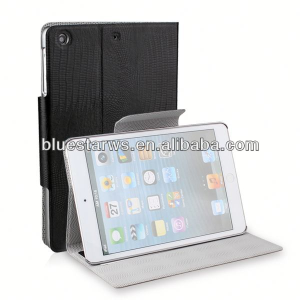diamond crystal case for ipad mini 2 pu leather case
