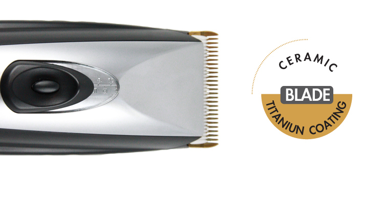 MB-055 Professional Rechargeable Cordless Ceramic Hair Clipper
