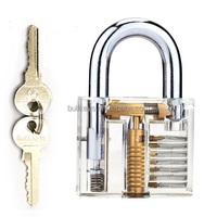 Bullkeys Professional Visible Cutaway Of Padlocks