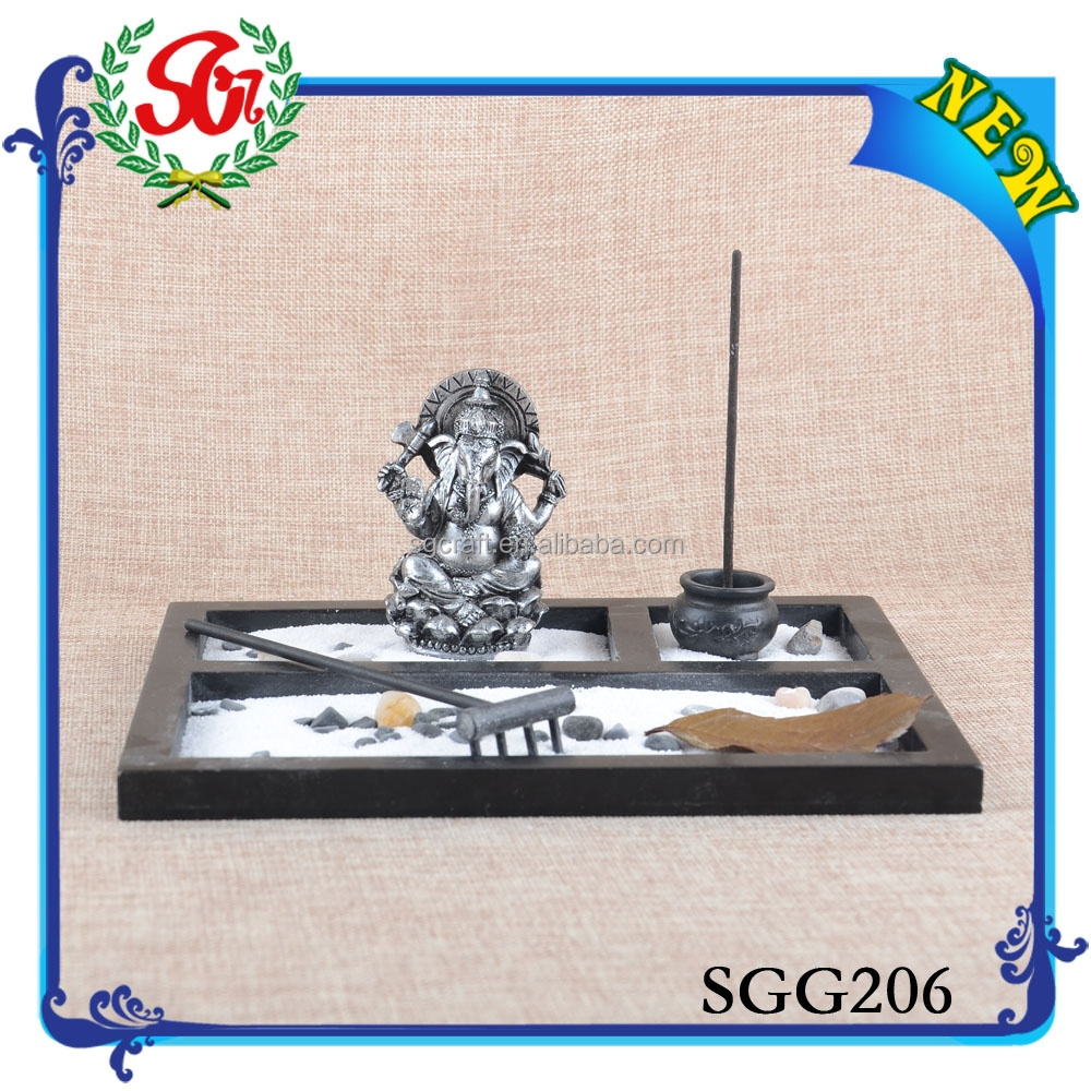 SGG206 Hot Promotional ganesh idols,hot goddess idols resin craft