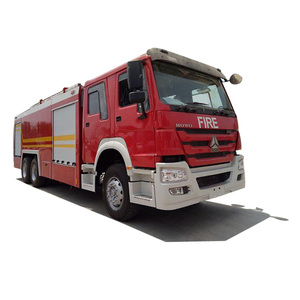 SINOTRUK HOWO 12tons water and foam fire fighting truck
