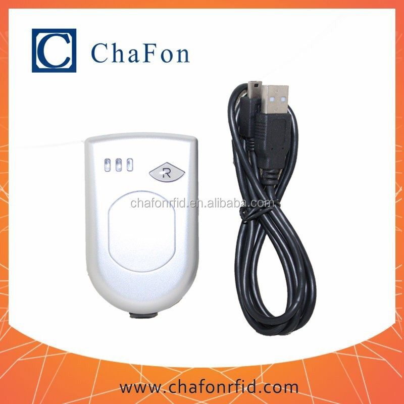 small rfid bluetooth reader support uhf frequency tags built-in rechargeable lithium battery