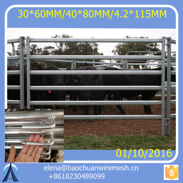 5' Xtra HD Corral Panels Silver Star <strong>Manufacturing</strong>