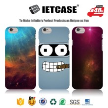 New Arrival Designs Metal Bumper Cell Phone Case For Iphone , Wholesale Plastic 2D Sublimation Mobile Shell For Iphone 6