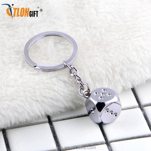 metal made wholesale custom sound effect keychain