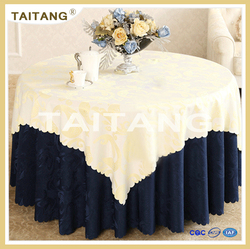 2015 Hot Sale factory price fancy table cover for wedding