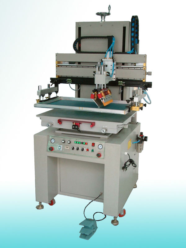 Semi auto flat screen printing machine(10years professional exprience)