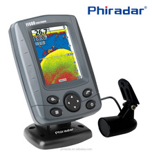 3.5'' Color Screen Boat Sonar Fish Finder FF688C with 17 languages Menu Settings