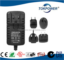 CE UL interchangeable plug ac dc power adapter 12v 2a 1a 3a 5v 6a ac dc Power Adapter IEC EN 60601