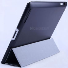 Brand new leather flip cases for ipad 4