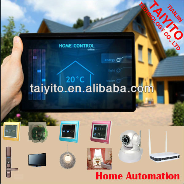 X10/PLC Taiyito smart home automation, Bidirectional Wireless Zigbee home automation