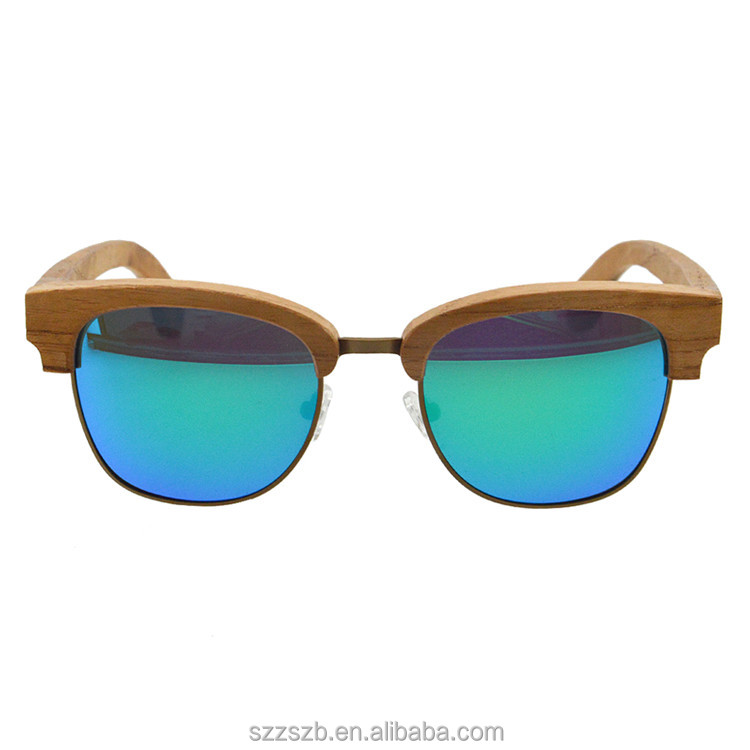 Good Quality Hot New bamboo Sunglasses Natural Custom Wooden Sunglases