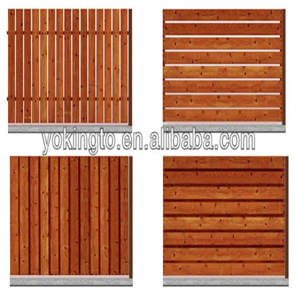 wholesale wood privacy fence