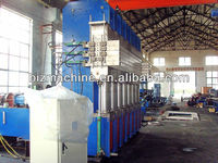 strip type tyre tread vulcanizing machine