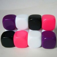 Hot Sale Good Quality Wholesale Blank Colorful Custom Square Dice