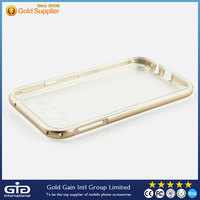 High Quality electroplating TPU+ PC Bumper case for Samsung for Galaxy E5