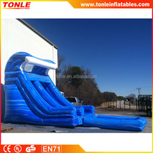 16' Blue Wave Inflatable water slide