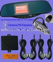 3.5 inch TFT Monitor Camera Mobile Phone Bluetooth Handsfree Kit