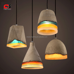 Concrete Chandelier Pendant Light Hot New Modern Vintage Indoor Outdoor replica pendant light