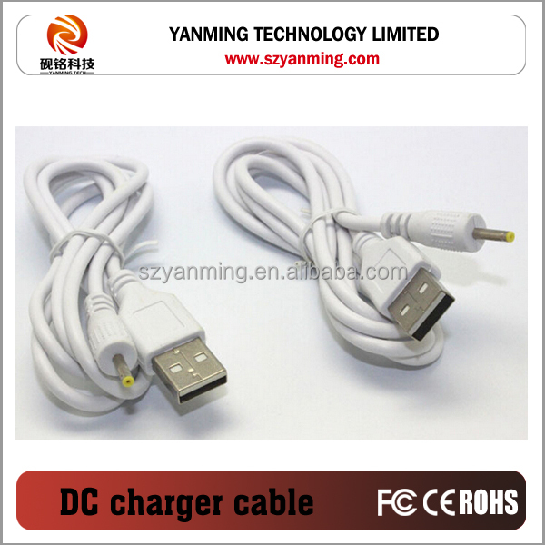cigarette plug USB to DC connector usb to dc cable