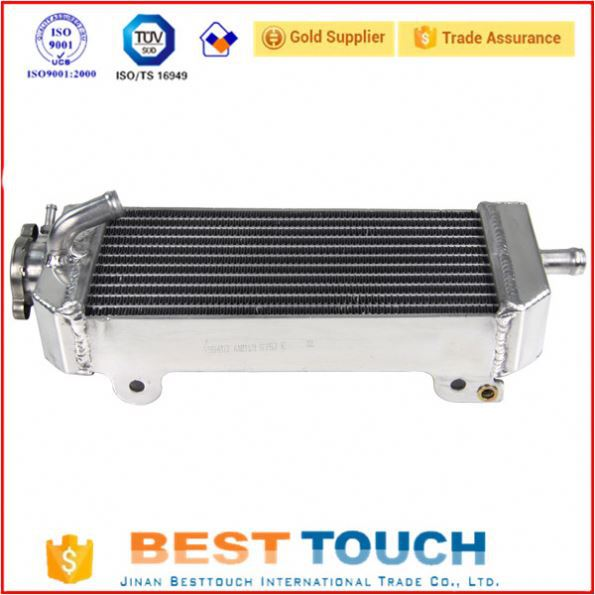 34MM 2ROW all-aluminum radiator for HONDA RANCHER TRX420 2007-2014 / FOREMAN TRX500 2012-2013