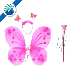 Wholesale Hot Sell Kid Party Decoration Hair Band Fairy Wand Fairy Butterfly Wings Children's Toys