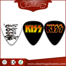 Kiss Band Logo Printed Guitar Plectrums